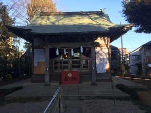 氷川神社 入谷
